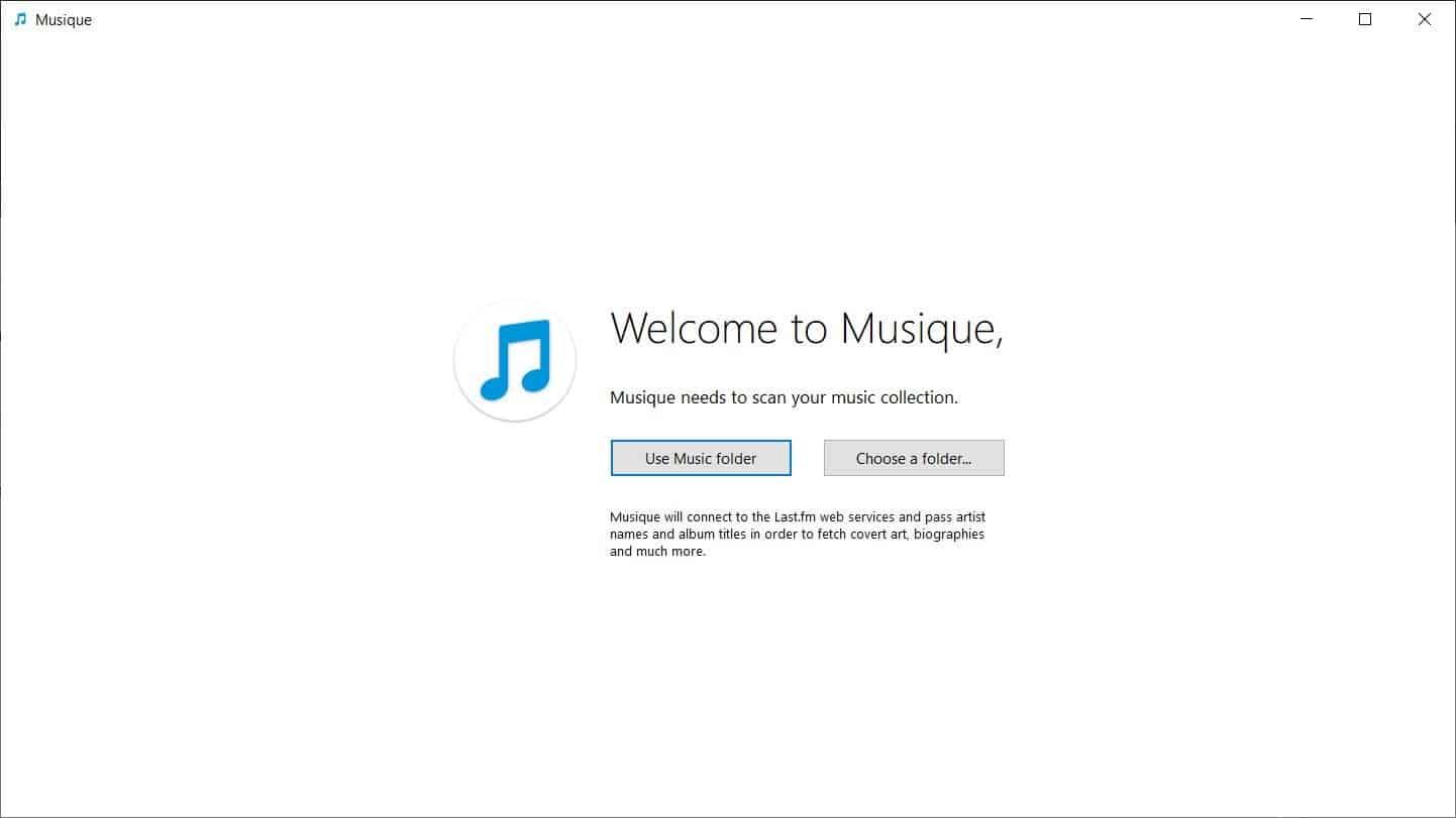 Musique first run