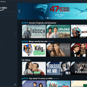 amazon prime video windows 10