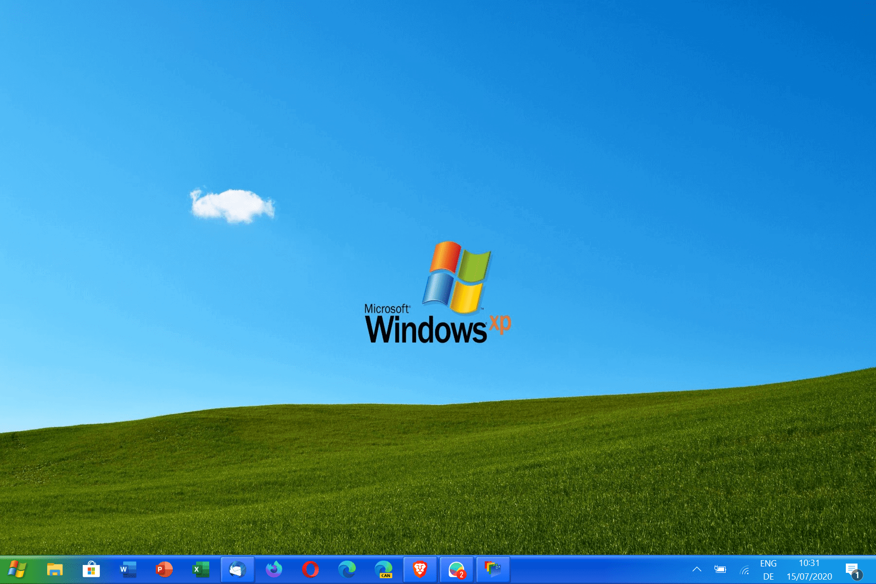 windows xp style