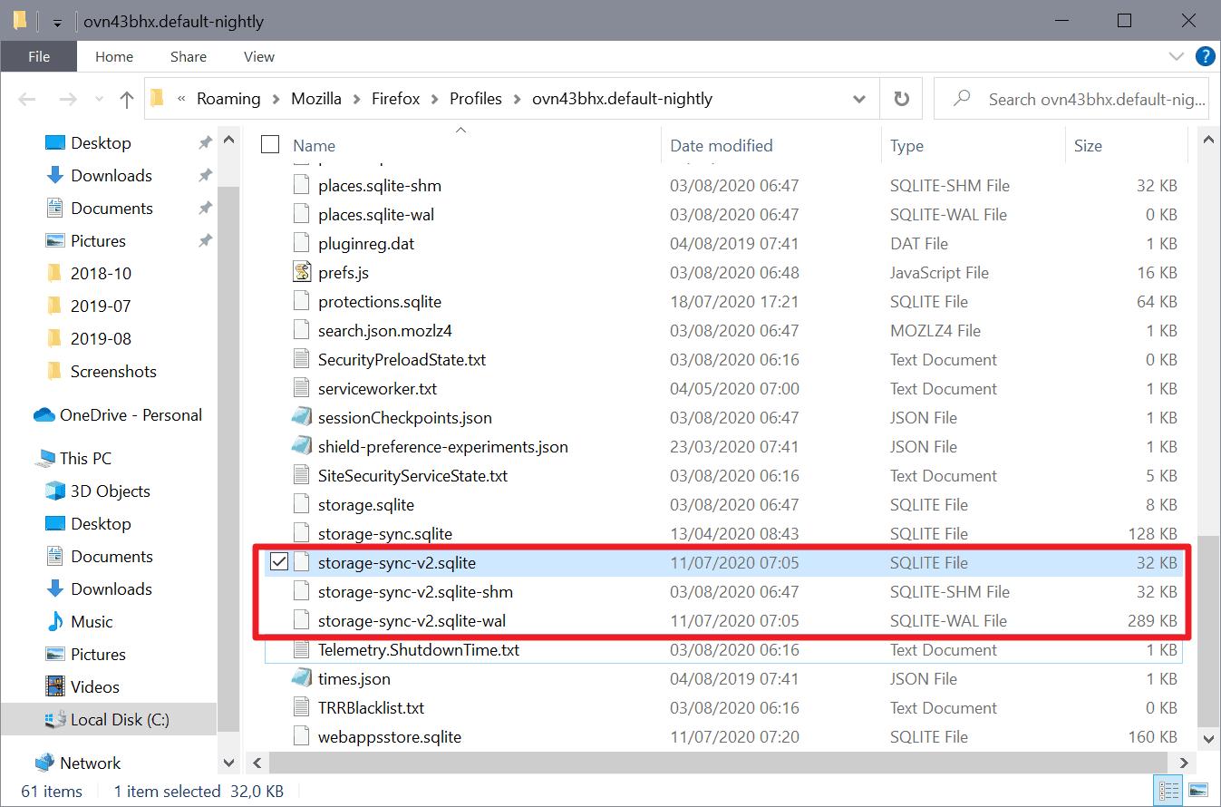 firefox ccleaner delete files