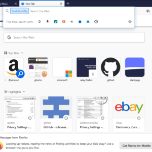 firefox one-off searches