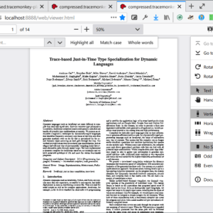 firefox pdf reader light