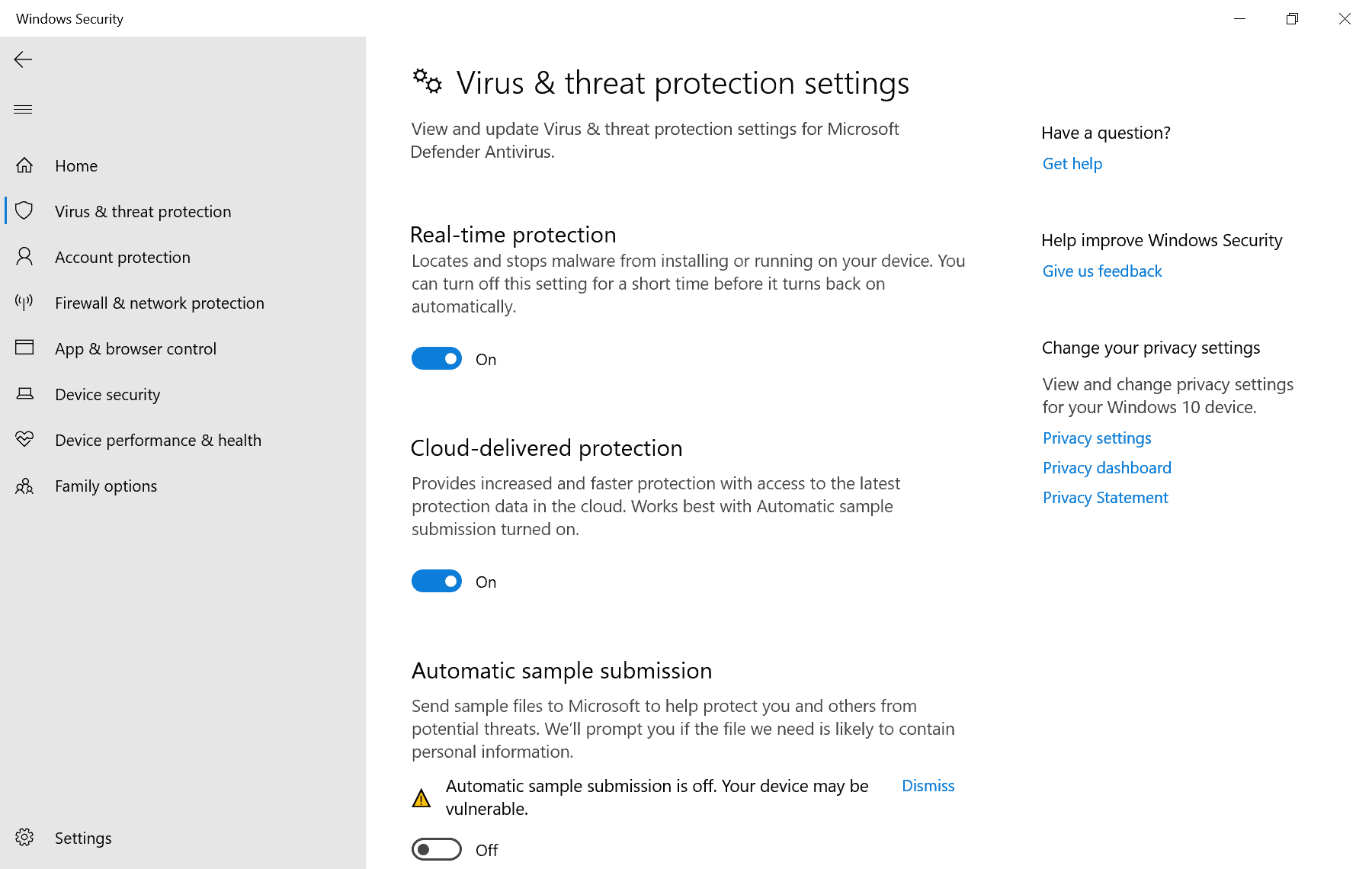 Microsoft makes it difficult to disable Windows Defender on Windows 10