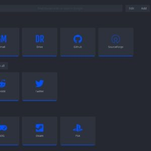 nightTab is a highly customizable new tab replacement extension for Firefox and Chrome