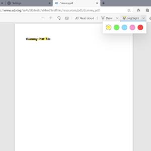 pdf highlight