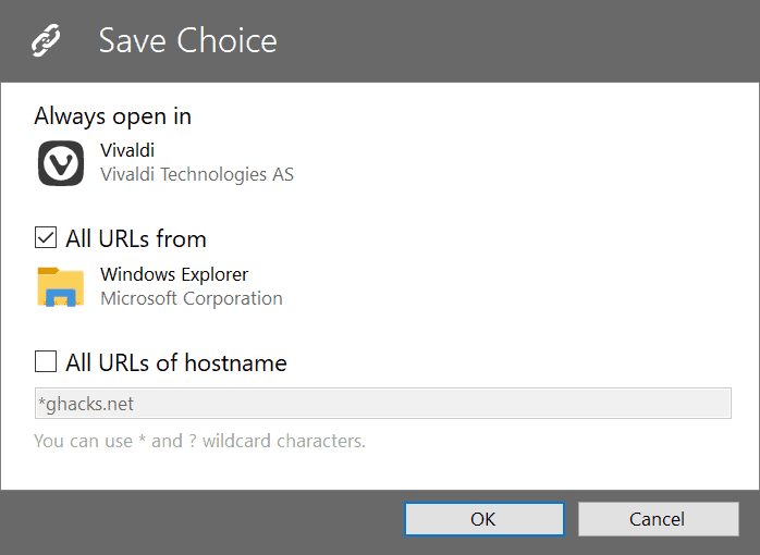 save browser target