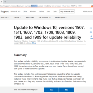 windows 10 kb4023057 update