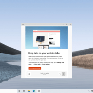 windows 10 postupgrade whats new