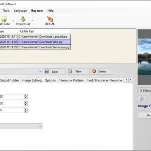 Photo Resizer Expert is a freeware tool that can batch resize, convert, watermark images