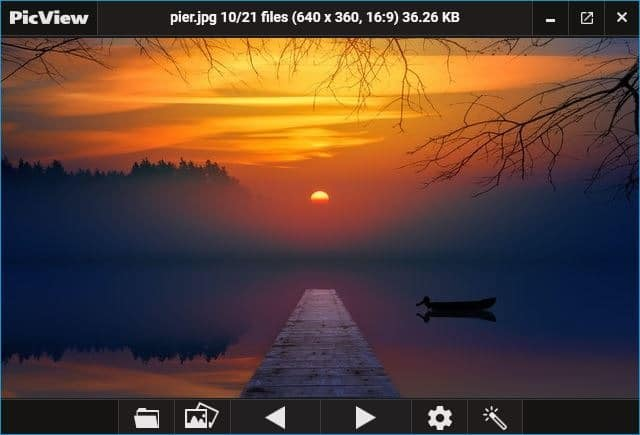 PicView open source image viewer