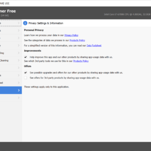 ccleaner privacy opt-out
