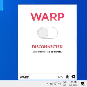 cloudflare warp