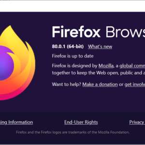 firefox browser 80.0.1
