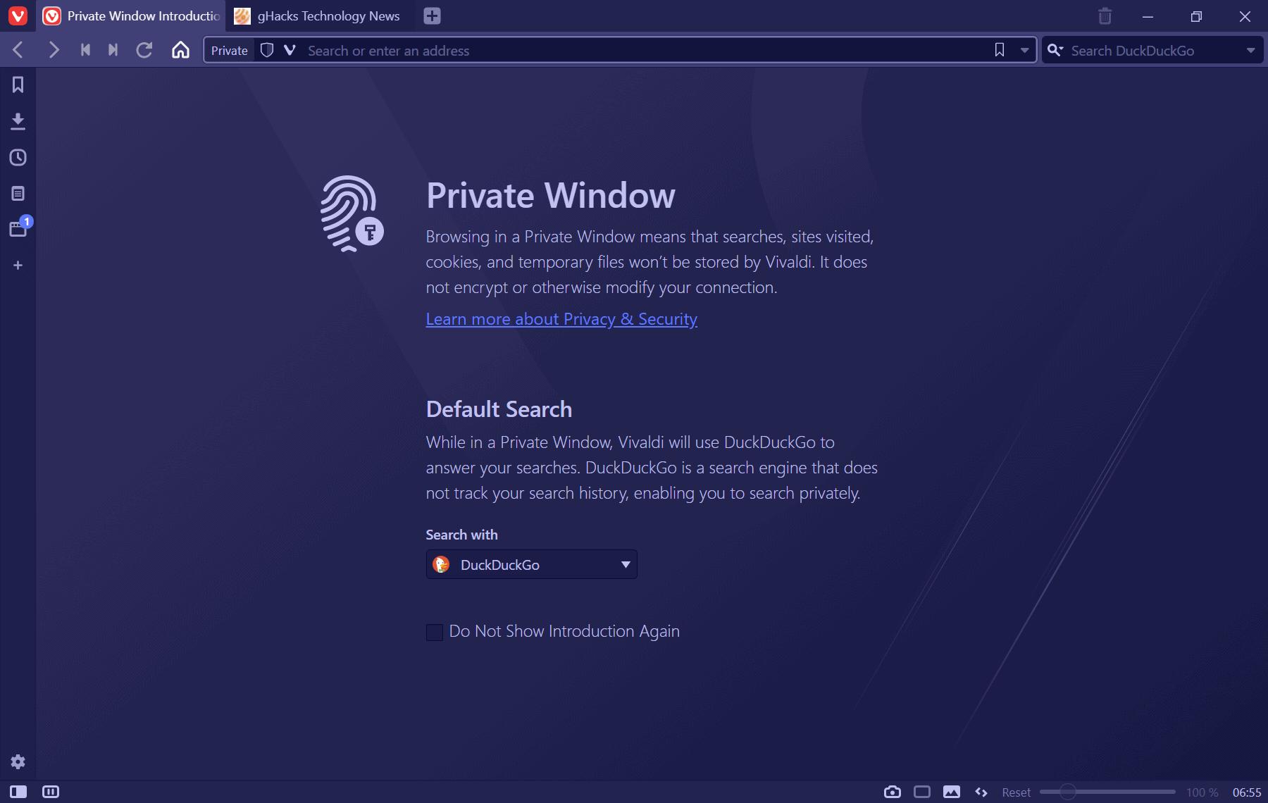 vivaldi-3.3-new private window theme