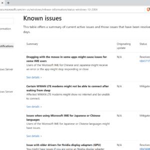 windows-10 update blockers issues