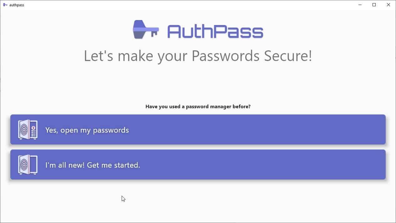 AuthPass - это кроссплатформенный менеджер паролей с открытым исходным кодом, который поддерживает файлы базы данных KeePass.