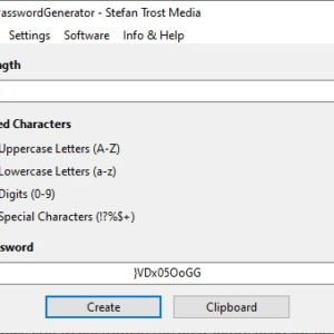 Create secure passphrases with custom characters, length with PasswordGenerator