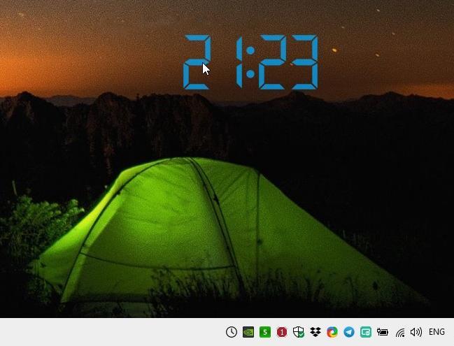 Digital Clock 4
