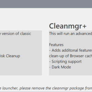 cleanmgrplus