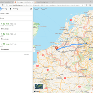 duckduckgo maps directions