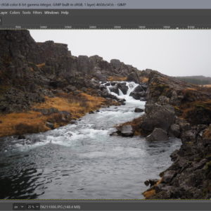 gimp-2.10.22 image editor avif heic support