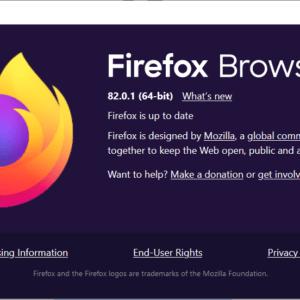 mozilla firefox 82.0.1