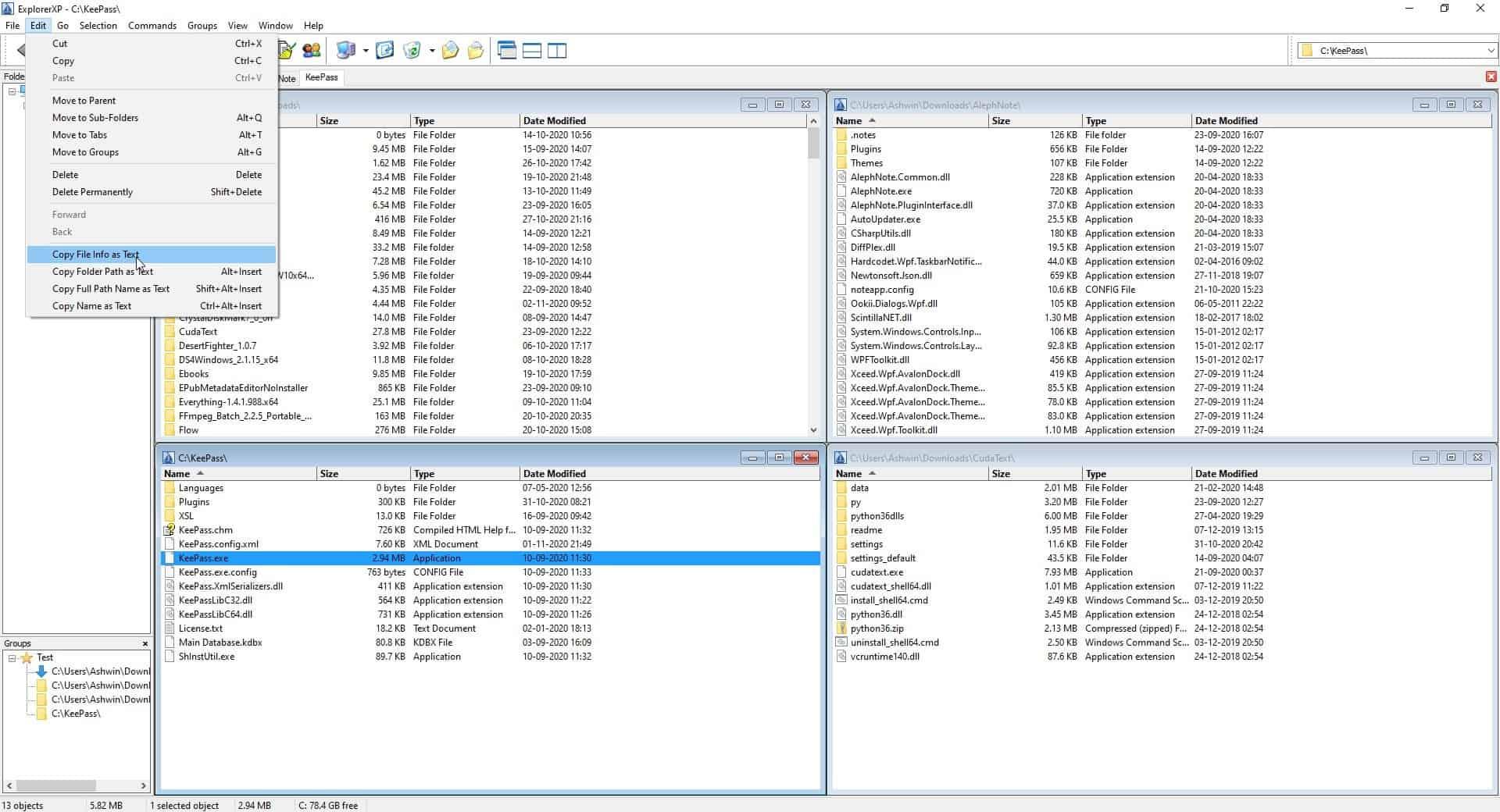ExplorerXP multi windows