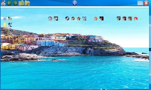 QuickWayToFolders custom background