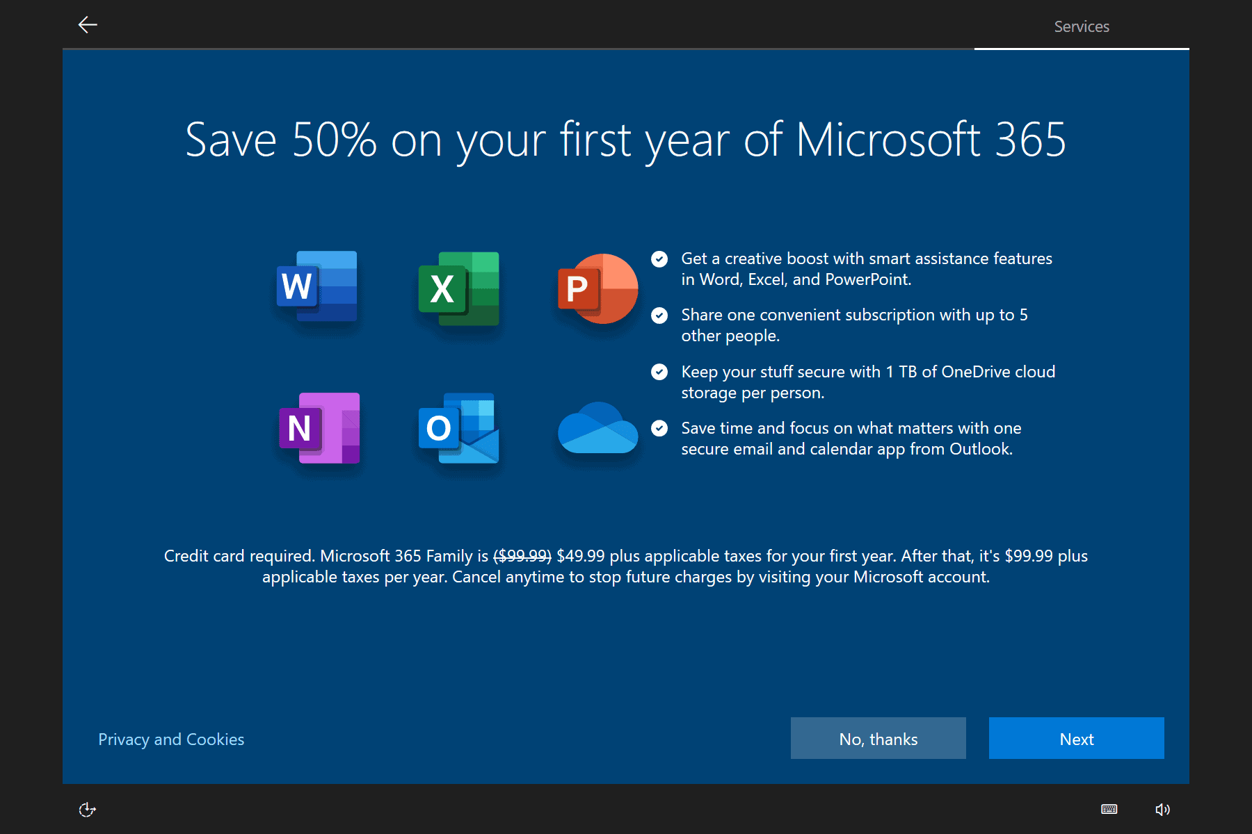 Microsoft 365 Advertising