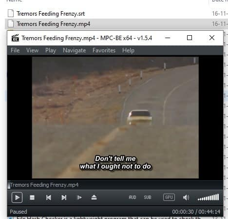 Subloader correct subtitles after editing the file name 2