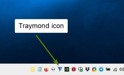 Traymond is a tool that can minimize programs to the system tray