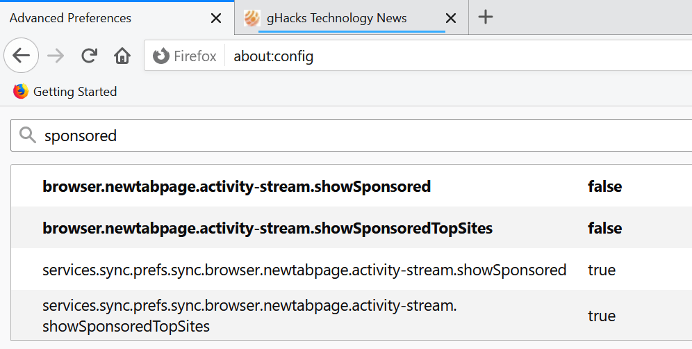 firefox sponsored top sites