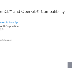 install opencl opengl compatibility pack