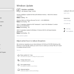 microsoft windows november 2020 security updates