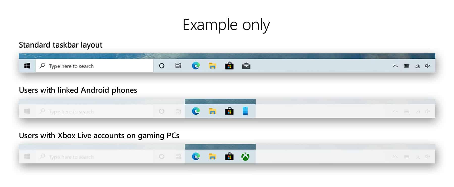 programmable taskbar