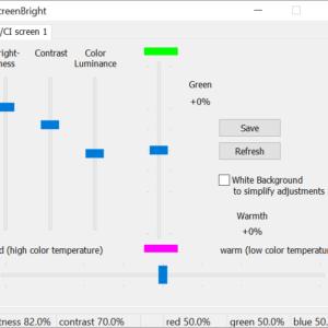 screenbright brightness windows 10