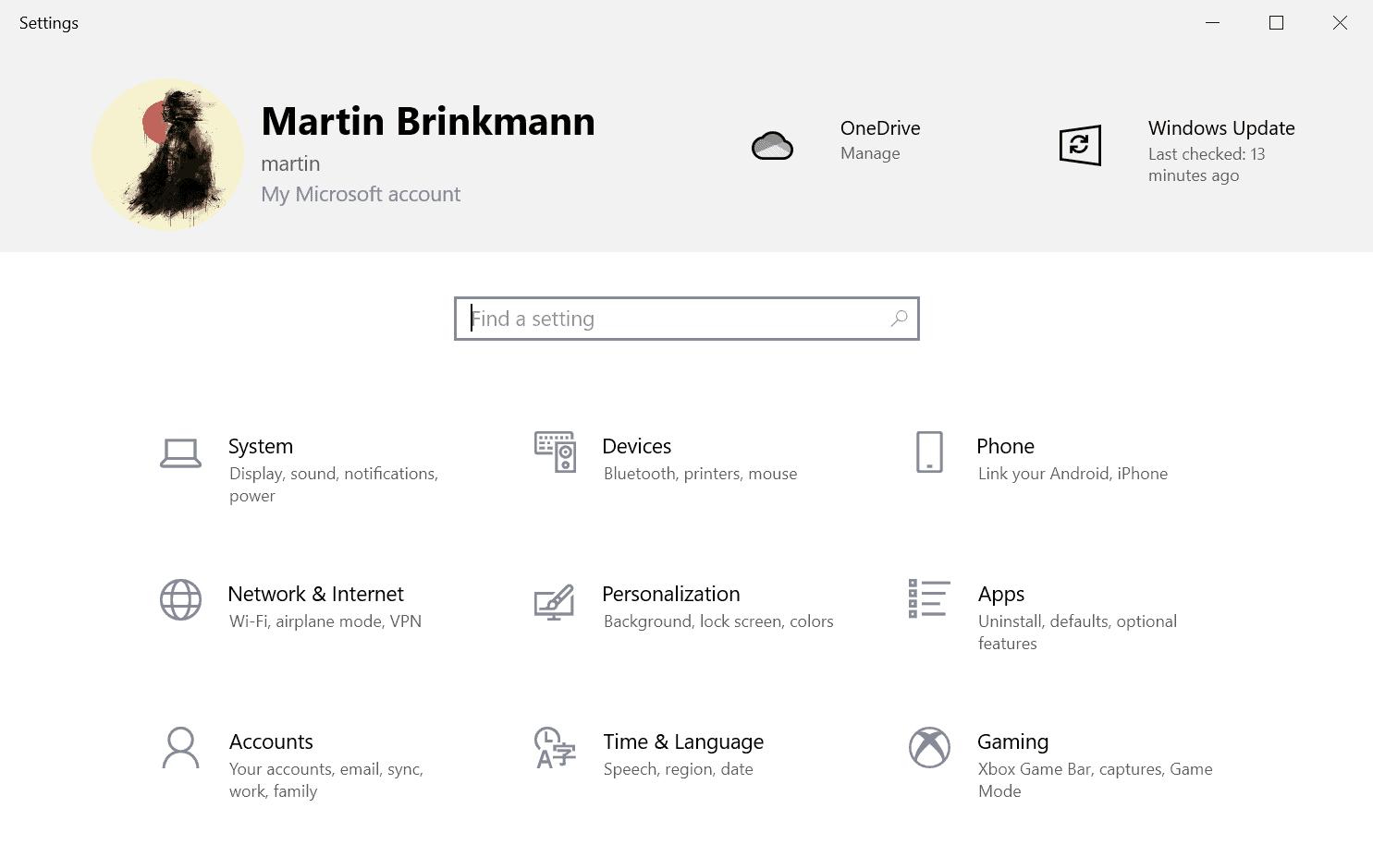 application banner settings