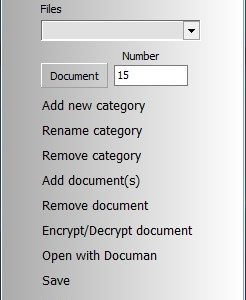 Categorize your documents and access them quickly with Documan