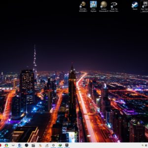 Chameleon is an open source program that can change your desktop wallpaper automatically based on the time, weather