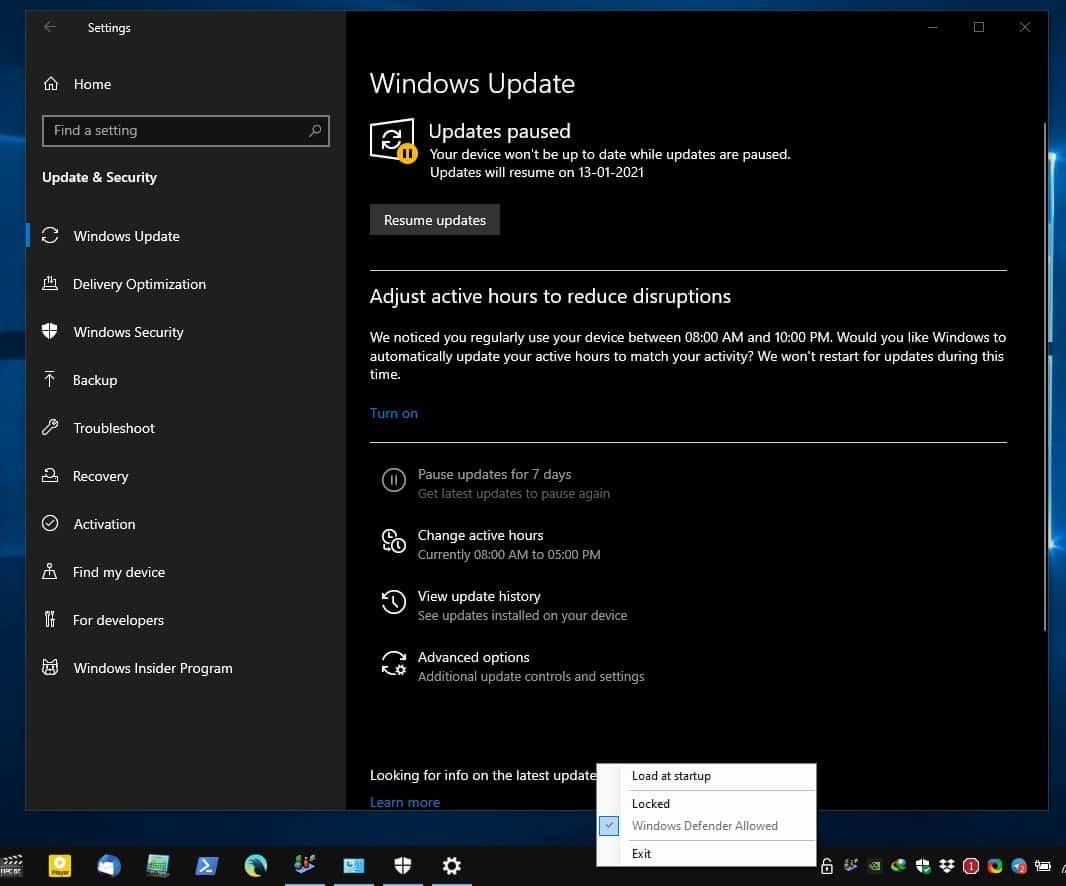 Kill-Update Windows Update unlocked