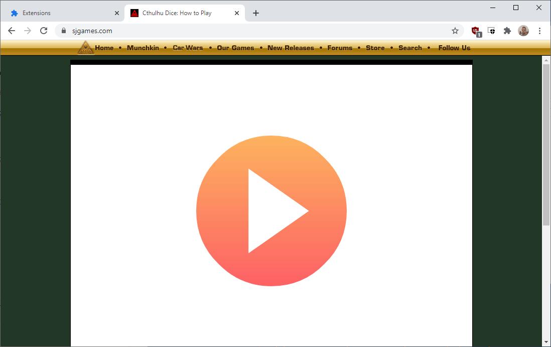 google chrome flash content