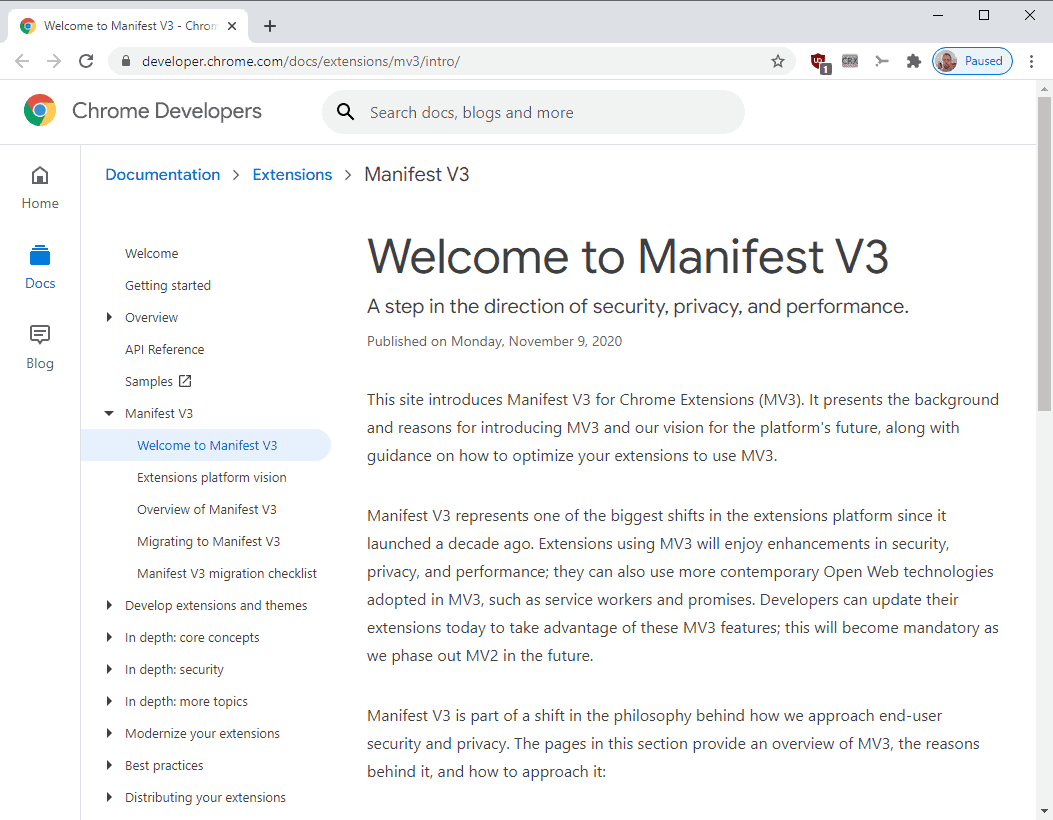 Google enables controversial extension Manifest V3 in Chrome 88 Beta
