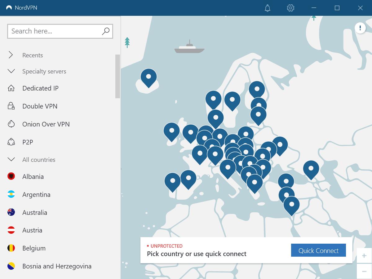 nordvpn speciality servers