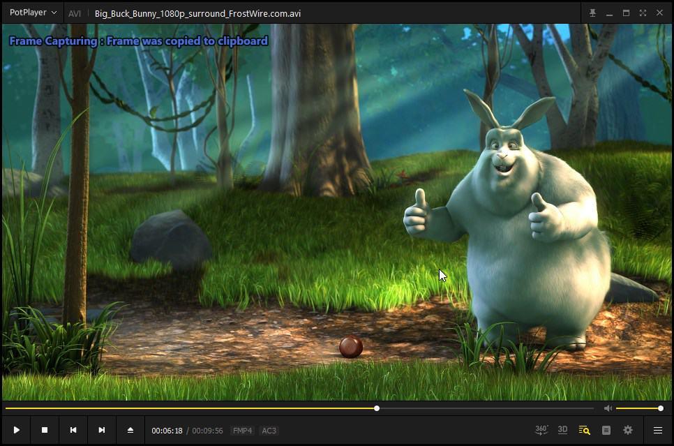 potplayer capture screenshot