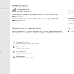windows updates december 2020