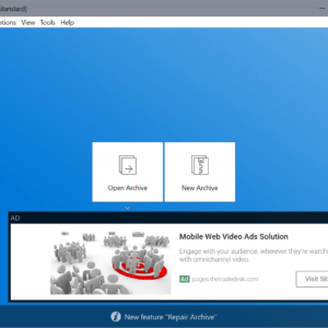 bandizip 7.13 interface