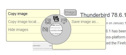 easygestures n contextual menu - image