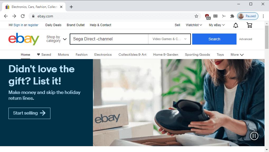 ebay search efficient