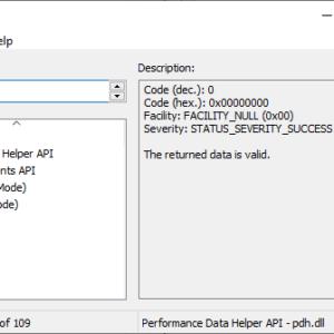 error lookup tool windows