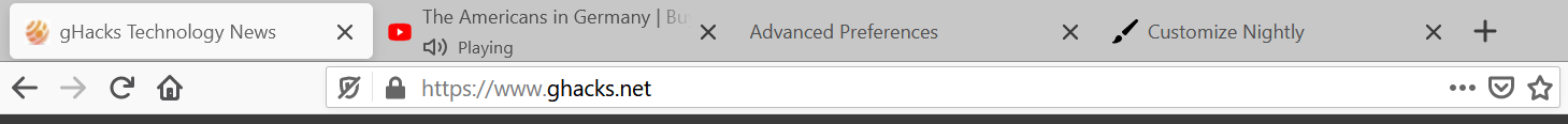 firefox tabs compact mode